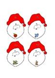 Phonics Santa Matching Game