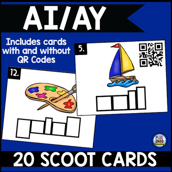 Phonics Scoot: Ai/Ay