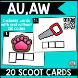 Phonics Scoot: Au & Aw