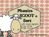 Phonics Scoot and Sort: Vowel Digraphs
