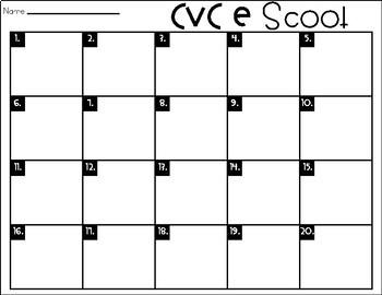 Phonics Scoot: CVC E