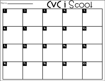 Phonics Scoot: CVC I