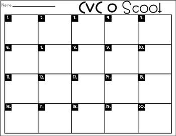 Phonics Scoot: CVC O