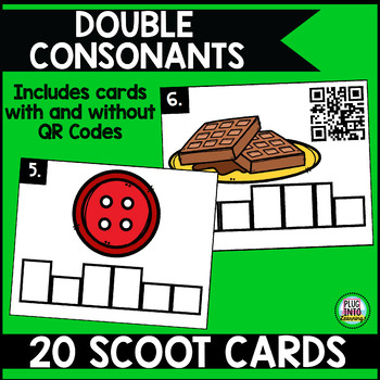 Phonics Scoot: Double Consonants