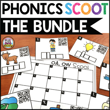 Phonics Scoot: The Bundle