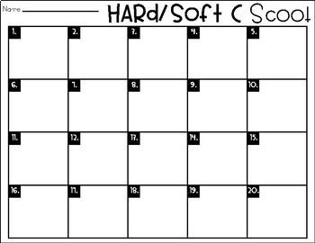 Phonics Scoot: Hard/Soft C