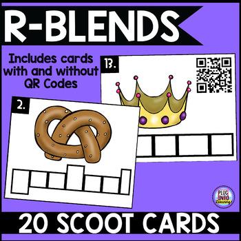 Phonics Scoot: R-Blends
