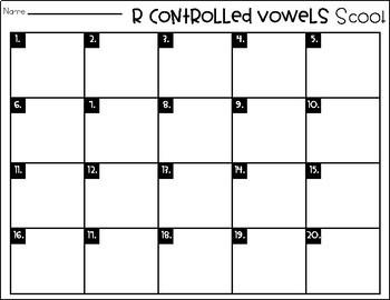 Phonics Scoot: R-Controlled Vowels