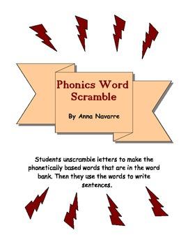 Phonics Scramble