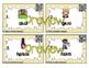 Phonics Scrambles Task Cards: Short Vowel Word Families Bundle