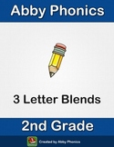 Phonics - Second Grade - Three Letter Blend