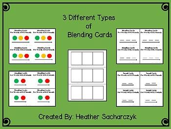 Phonics Blending Cards