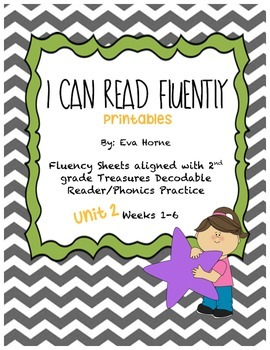 Phonics Selection-Unit 2 Treasures-Fluency-Decodable Readers