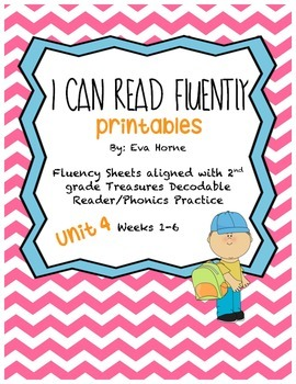 Phonics Selection-Unit 4 Treasures-Fluency-Decodable Readers