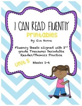 Phonics Selection-Unit 5 Treasures-Fluency-Decodable Readers