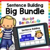 Phonics Sentence Building Boom Cards Big Bundle