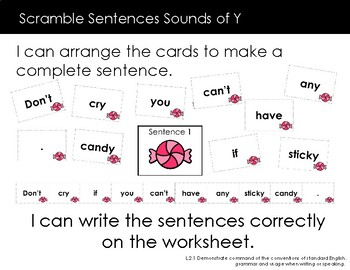 Phonics Sentence Scramble