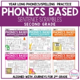 Phonics Sentence Scrambles Bundle