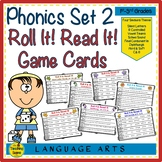 Phonics Set 2:  Roll It Read It!