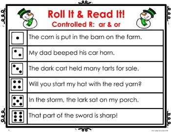 Phonics Set 2:  Roll It Read It!