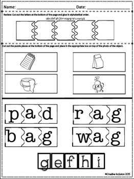 Phonics- Short A- Book 2, Errorless and Explicit Teaching Made EASY!