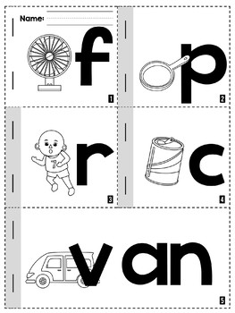 Phonics Short A Word Family Packet