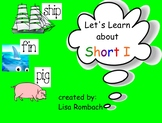 Phonics Short I SmartBoard Lesson Primary Grades