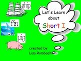 Phonics Short I SmartBoard Lesson Primary Grades