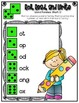 Phonics (Short O Word Families) Roll, Read, and Write Activity ~ Free!