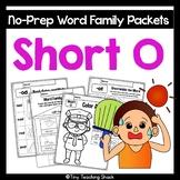 Phonics Short O Word Family Packet