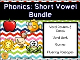 Phonics: Short Vowel (a, e, i, o, u) BUNDLE