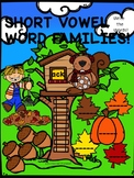 "Phonics Tree House ""Short Vowel Word Families"" (Write Word Worksheets)"