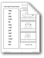 Phonics: Short Vowel Words