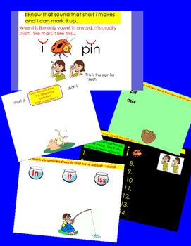 Short Vowel i ActivInspire Flipchart - 9 Interactive Lessons