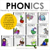 Phonics - Short Vowels BUNDLE - Reading Foundation with Phonics