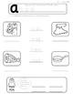 Phonics - Short a CVC Worksheets