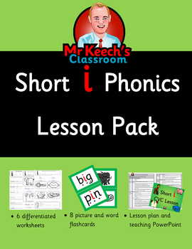 Phonics - Short i CVC Lesson Pack