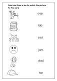 Phonics:Short vowel a activity
