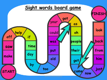 Phonics / Sight Words Printable Games