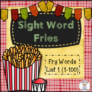 Sight Words - Sight Word Fries (Fry list #1)