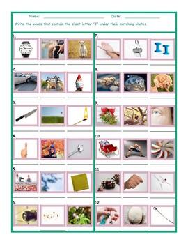 Phonics Silent Letter T Worksheet