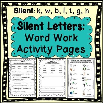 Phonics: Silent Letter Word Work