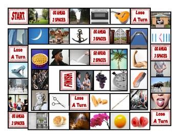 Phonics Silent Letters L-H-E-U-P-C Board Game