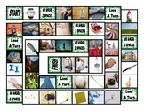 Phonics Silent Letters T-KN-MB-W-G-D-N Photo Board Game