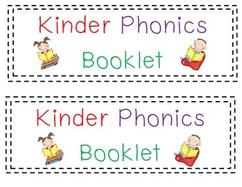 Phonics Skill Booklet