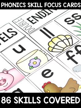 Phonics Skill Focus Cards