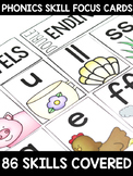 Phonics Skill Focus Cards