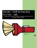 Phonics Skill Lesson: -igh
