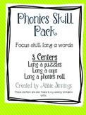 Phonics Skill Pack- Long a- a, ai, ay