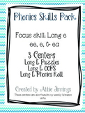 Phonics Skill Pack- Long e- ee, e, & ea